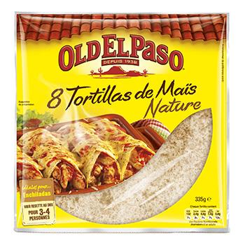 Tortillas de mais souples x 8 tous les produits tex mex prixing - Carbonate de sodium danger ...