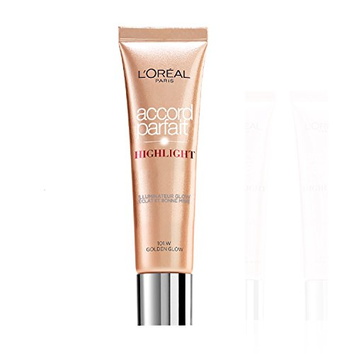 L'Oréal Paris Make Up Designer Accord Parfait Highlight Fluide 101.D Éclat Doré