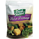 Fresh Gourmet croutons ail et fromage 80g