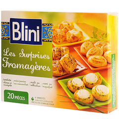 Surprises fromageres Blini x20 250g