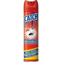 Catch insecticide mouches moustiques l 39 aerosol de 400 ml tous les produits insecticides - Insecticide mouche de l olive ...