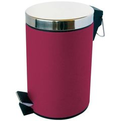 Poubelle infinity satin framboise 3L