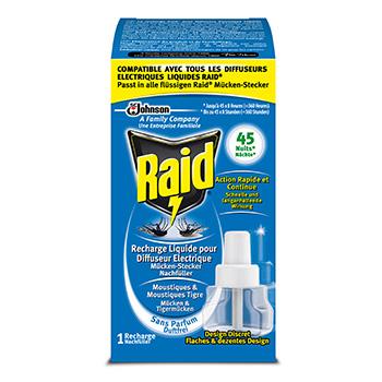recharge anti moustiques liquide pour diffuseur electrique raid nuit 45 nuits tous les. Black Bedroom Furniture Sets. Home Design Ideas