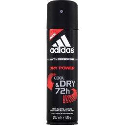 Deodorant Dry Power Cool & Dry ADIDAS, atomiseur 200ml