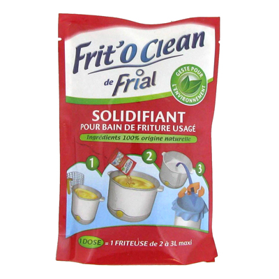 Solidifiant pour bain de friture usage Frit'o Clean FRIAL