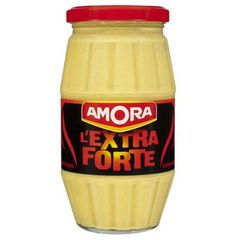 Moutarde extra forte AMORA, 440g