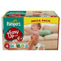 Pampers easy up mega maxi change x84 taille4
