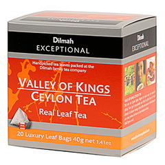 The noir de Ceylan Dilmah Vlley of Kings orange pekoe 40g