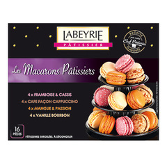 Macarons patissier Labeyrie x16 160g