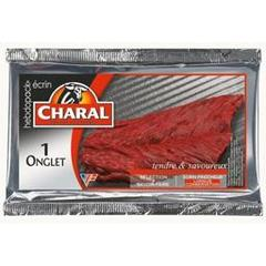 Onglet de boeuf CHARAL, 1 piece 140 g