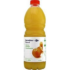 Nectar d'orange a base de jus concentre