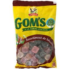 Gommes d 39 acacia assortiment de saveurs gom 39 s la pie qui chante tous les produits bonbons - Plante a la gomme ...