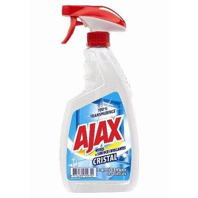 Ajax vitre cristal nettoyant pour vitres le flacon de 750 ml tous les produits vitres prixing - Produit deperlant pour vitres ...
