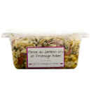 penne jambon cru fromage 800g