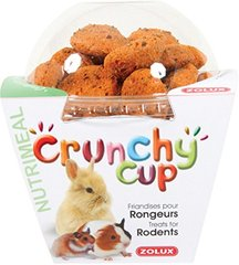 Zolux : Friandise Rongeur Crunchy Cup Carotte Lin