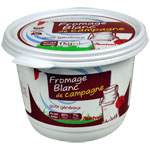 Auchan fromage blanc de campagne 40%mg 1kg
