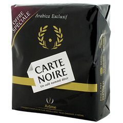 2x250g Cafe moulu pur arabica