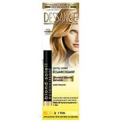 Spray eclaircissant blond soleil JACQUES DESSANGE, 125ml