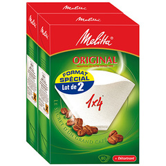 Filtres a cafe Melitta original n° 1 x 4 lot de 2x80