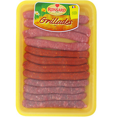 Assortiment saucisses Ronsard Panaches 600g