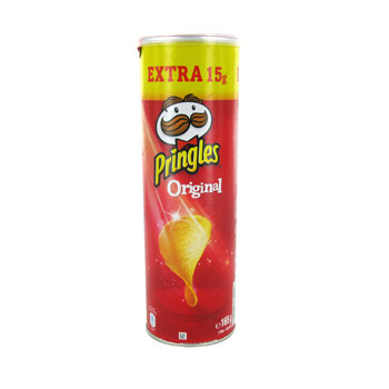 Pringles original king can 165g