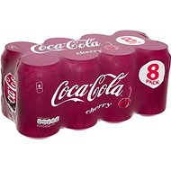 Coca Cola cerise (8x330ml) - Paquet de 2