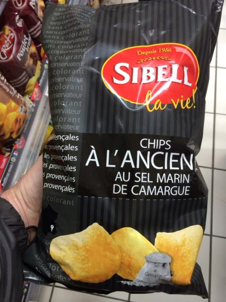 Chips au sel marin SIBELL, 270g