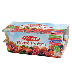 Materne Panache 4 Fruits Rouges
