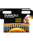 Duracell Plus Power AAA x12