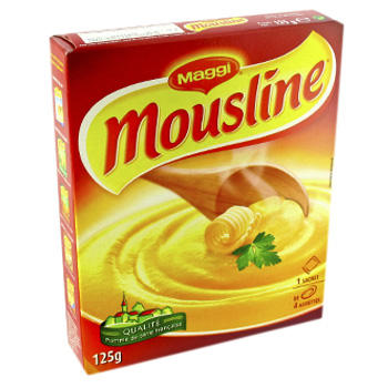 Puree nature Mousline, etui de 125g