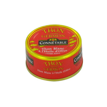 Thon blanc a l'huile d'olive CONNETABLE, 80g