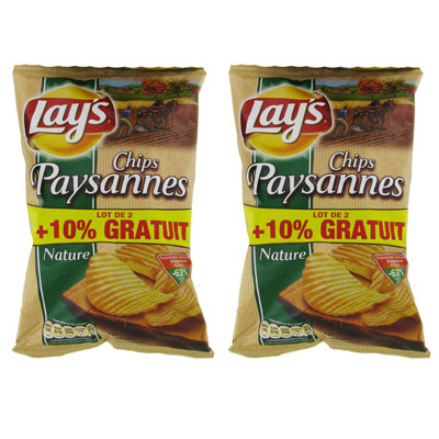 Chips paysane nature