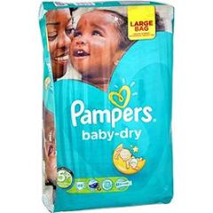 Pampers baby dry value + x48 taille 5 +