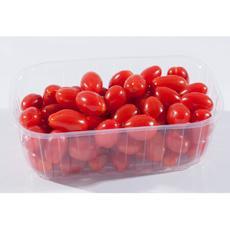 Tomate cerise allongée, catégorie 1, France, barquette 500g