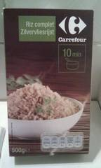 Riz long grain complet Carrefour