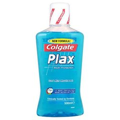 Colgate Plax Multi Protection Cool Mint Mouth Wash Clinically Tested By Desti...