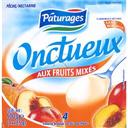 Yaourts brasses mixes aux fruits: peche, nectarine 4 x 125g