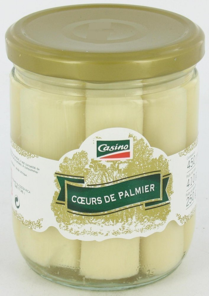 Pointes d'asperges blanches 1 x 250g