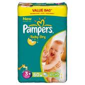 Pampers baby dry drugbag t3 + x60