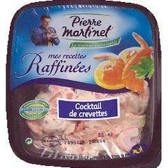 Cocktail de crevettes PIERRE MARTINET, 180g