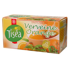 Infusion Tisea verveine orange x25