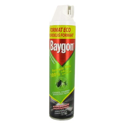 Anti rampants baygon desinfectant aerosol 600ml tous les produits insecticides prixing for Produit anti cafard