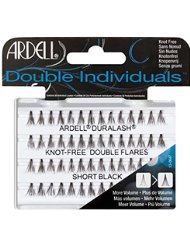 Ardell Double Individuals Faux-cils individuels sans noeuds Court