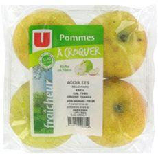 Pomme golden U, 4 pieces