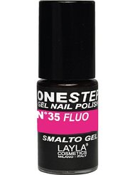 Layla Cosmetics Milano Vernis à Ongles One Step Gel Strike Fluo 5 ml
