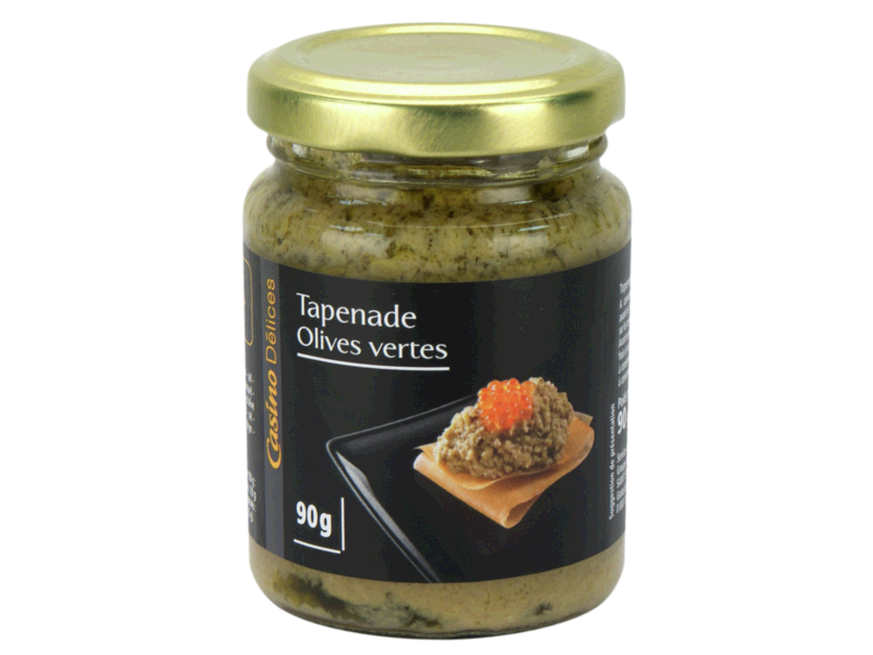 tapenade verte de provence nos regions ont du talent 90g tous les produits tartinables. Black Bedroom Furniture Sets. Home Design Ideas