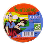 Fromage bio allege 10.5% MG