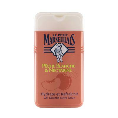 Le petit marseillais douche peche blanche nectarine 250ml - Gel douche le petit marseillais prix ...