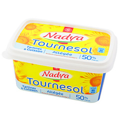 Margarine tournesol Nadya 50%mg 500g