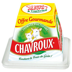 fromage chèvre chavroux nature pot 150g